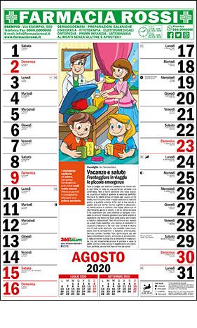 Backstage Calendario 2020.Pizzica Calendario 2020